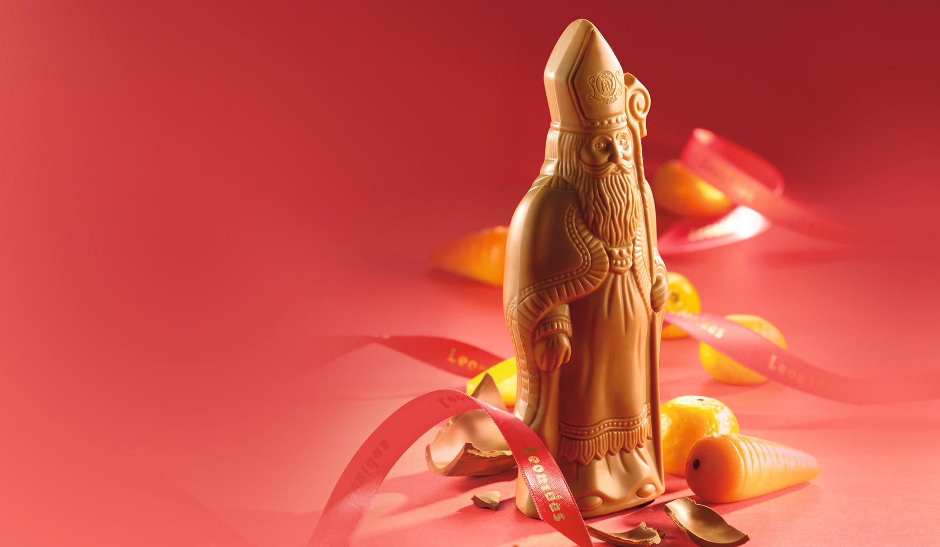 """Ontdek onze nieuwe """"blonde"""" Sint in witte chocolade en romige karamel"""